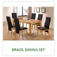BRAZIL DINING SET